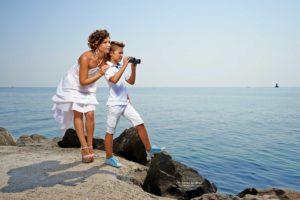 семейна фотосесия на плажа в Поморие