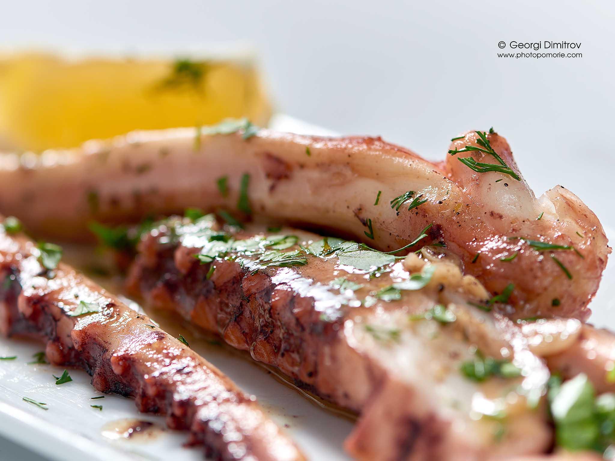 фотография за ресторантско менюв Поморие Бургас Слънчев Бряг Несебър