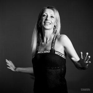 студиен черно/бял портрет във фотостудиото на Георги Димитров Фотограф